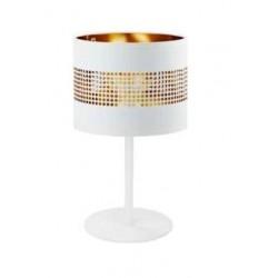 LAMPA NOCNA TAGO WHITE (BIAŁO-ZŁOTA) 1PŁ - 5056