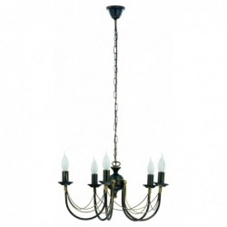 Klasyczna lampa wisząca ARES V