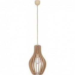 Lampa wisząca drewniana IKA A