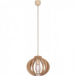 Lampa wisząca drewniana IKA C