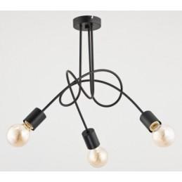 Lampa TANGO BLACK 3pł 23173...