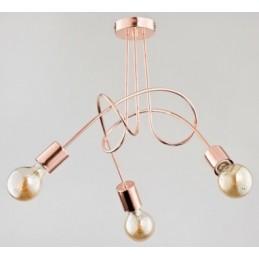 Lampa TANGO COPPER 3pł...