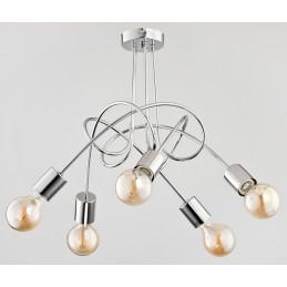 Lampa TANGO CHROME 5pł...