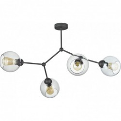 Lampa SUFITOWA  FAIRY CZARNA 4pł - 2730