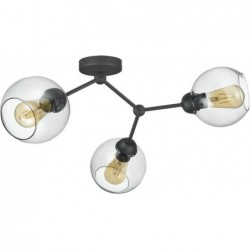 Lampa SUFITOWA  FAIRY CZARNA 3pł - 4372