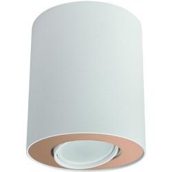 Lampa punktowa SET WHITE/GOLD