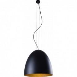 Lampa wisząca EGG BLACK L