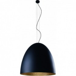 Lampa wisząca EGG BLACK XL