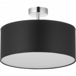 LAMPA SUFITOWA VIENNA  CZARNA -  4PŁ - 4246