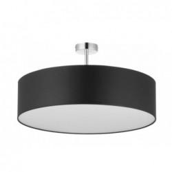 LAMPA SUFITOWA VIENNA  CZARNA -  4PŁ - 4245