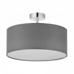 LAMPA SUFITOWA VIENNA  SZARA -  4PŁ - 4240