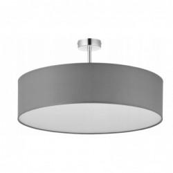 LAMPA SUFITOWA VIENNA  SZARA -  4PŁ - 4239