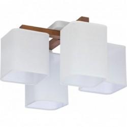 LAMPA SUFITOWA TORA WHITE 4PŁ - 4163