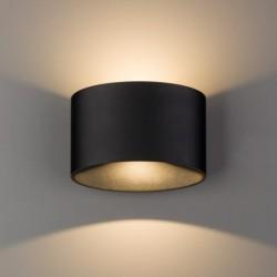 Kinkiet ELLIPSES LED BLACK