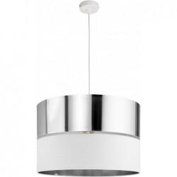 LAMPA WISZĄCA HILTON SILVER 1PŁ - 4178