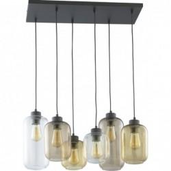 Szklana lampa wisząca 6...