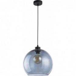 Szklana niebieska lampa...