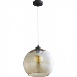 Szklana brązowa lampa...