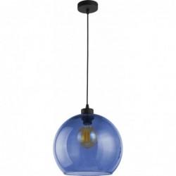 Szklana granatowa lampa...