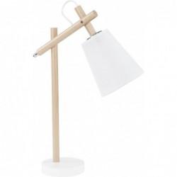 TK LIGHTING LAMPA BIURKOWA VAIO WHITE BIAŁY