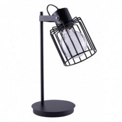 Luto kwadrat Lampka czarny
