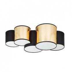 LAMPA SUFITOWA MONA GOLD 5PŁ - 3447