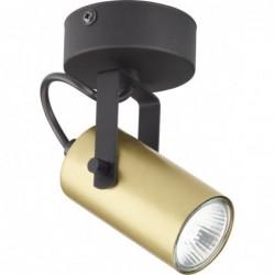 Lampa sufitowa czarno-złota...
