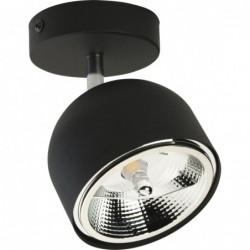 Lampa sufitowa czarna ALTEA...
